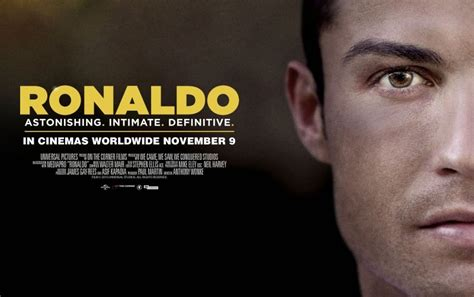 ronaldo biography movie the most interesting things revealed in cristiano ronaldo