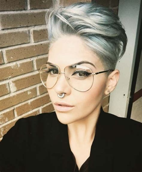 long hair sweeped side fringe shaved 25 best ideas about shaved pixie cut on pinterest pixie
