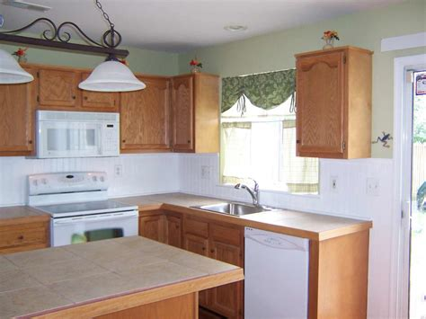 beadboard kitchen cabinets kitchen wall covering ideas wainscoting backsplash feel the home