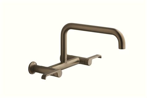 double handle wall mount kitchen faucet we want to help make your remodel easy and affordable