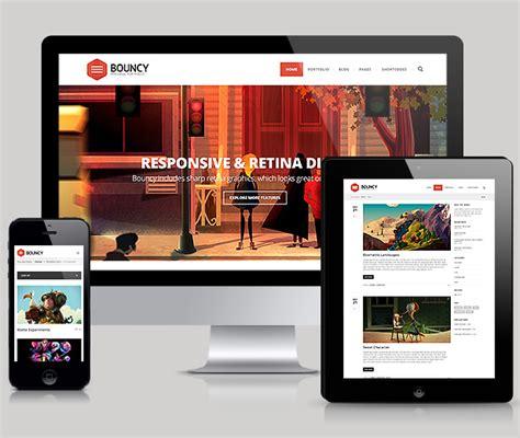 headway themes mobile responsive bouncy mobile responsive portfolio wordpress theme download