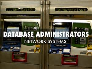 Database Administrator Outlook by Database Administrators By M