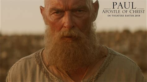 movie actor paul behind the scenes of paul apostle of christ with veteran