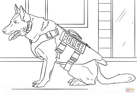 Dogs Coloring Pages To Print by K 9 Coloring Page Free Printable Coloring Pages