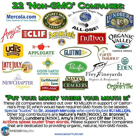 Brands To Buy by 22 Quot Non Gmo Quot Companies To Buy From Mommahealth