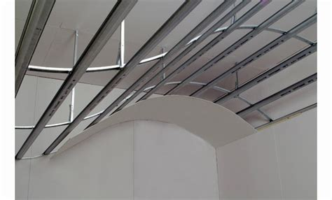 Curved Drywall Ceiling by Metal Profiles