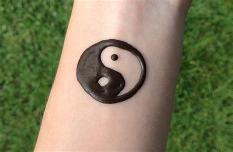 yin yang henna tattoo henna ying yin yang yingyang