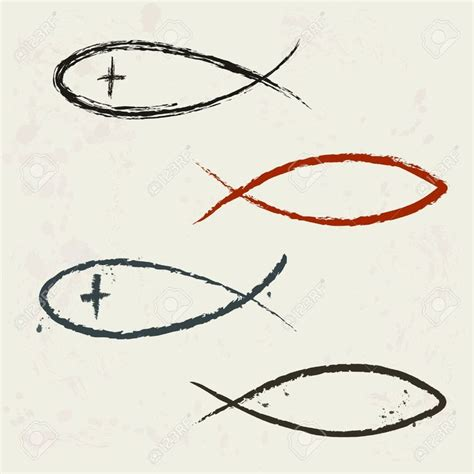 Collection Of Tattoo Christian Fish Symbol Jesus Fish Tattoo With