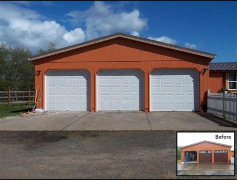 3 door garage 3 9x8 wayne dalton steel doors traditional garage and