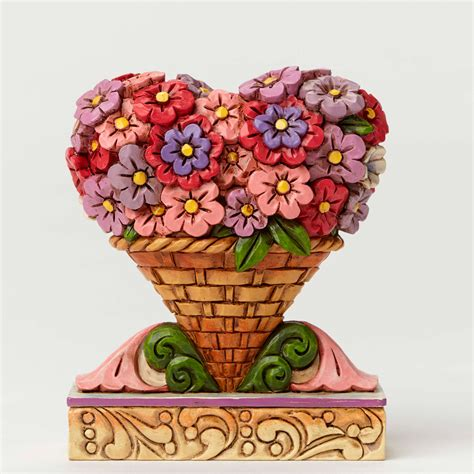 jim shore valentines day enesco e8 jim shore heartwood creek s day flower