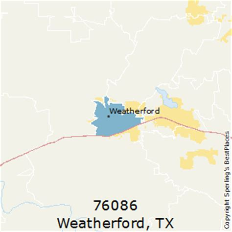 where is weatherford texas on the map best places to live in weatherford zip 76086 texas