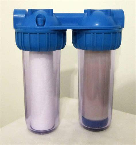 agua para casa filtro agua para pozo saca metales algas suciedad y