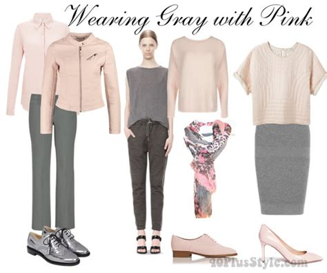 the pink and grey look nice with the paint color eden s how to wear gray choose color combinations and ensembles
