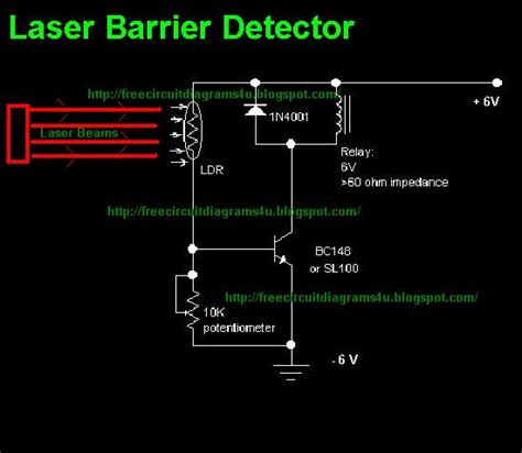 laser light detector circuit gt circuits gt laser barrier detector l27311 gr