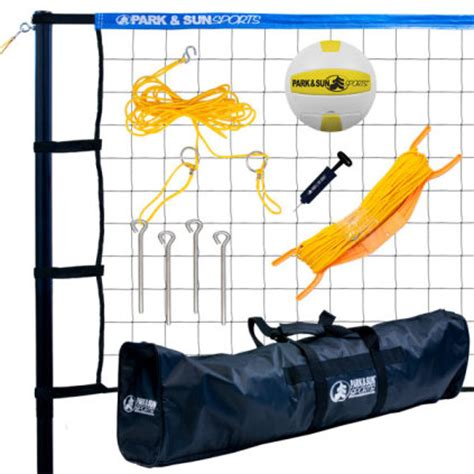 backyard volleyball net system volleyball poles accessories outdoor spectrum 179