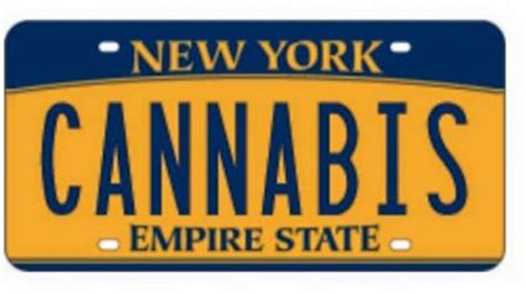 Ny Vanity Plates by New York State Denies Quot Cannabis Quot Vanity License Plate