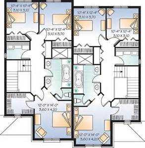 2 Family Home Plans by Multi Family Plan 65339 At Familyhomeplans Com