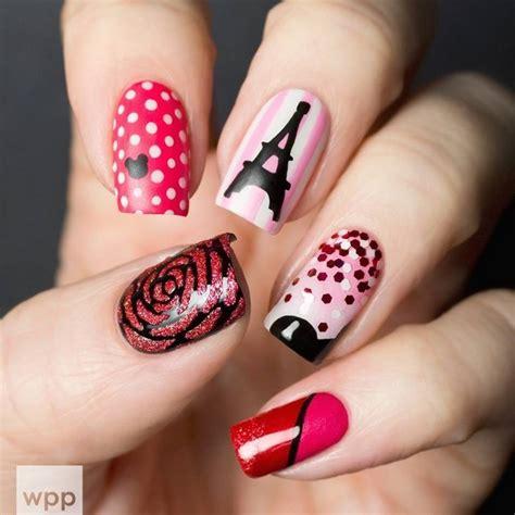 imagenes de uñas decoradas solo con esmalte u 241 as decoradas las mejores ideas para tu manicura
