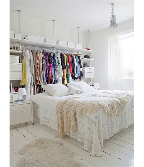 bedrooms without closets 13 ways to make your room without a closet work closet