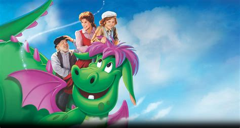 film with cartoon dragon first photo of pete s dragon released and he s furry