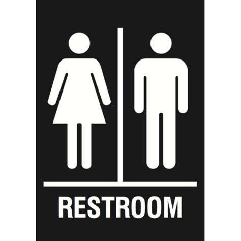man and woman bathroom symbol family restroom black sign men women bathroom signs