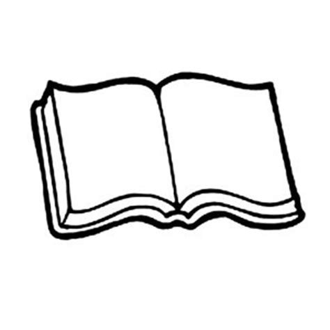 Open Book Coloring Pages Clipart Best An Coloring Book