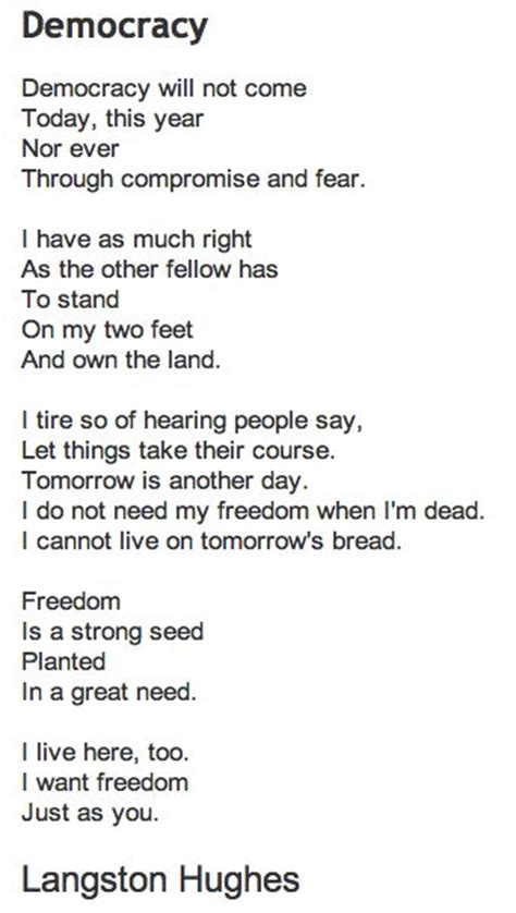 how democracies die books democracy by langston hughes we must never forget these