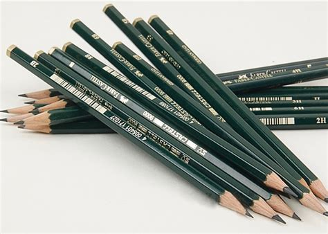 Pensil Faber Castell 9000 5b faber castell 9000 graphite pencil for drawing sketching 12pcs 16 hardness ebay