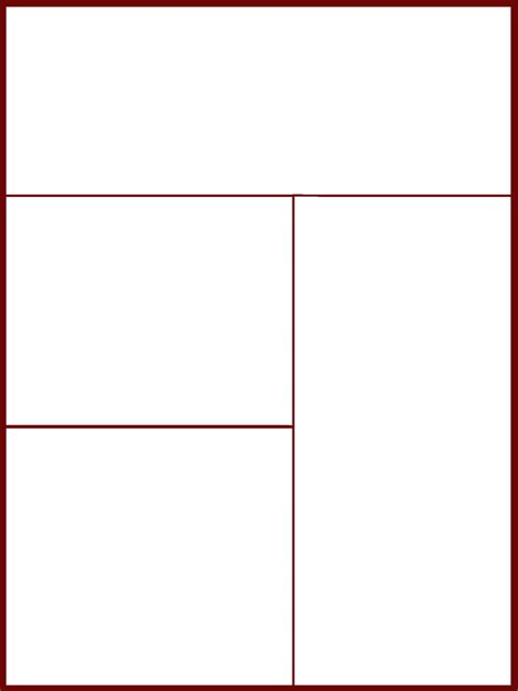 comic book page template comic page template 1 by pwnno0bs on deviantart