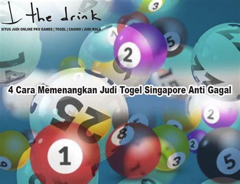 togel singapore   memenangkan judi togel singapore
