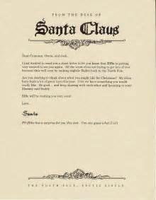east coast on the shelf letter from santa