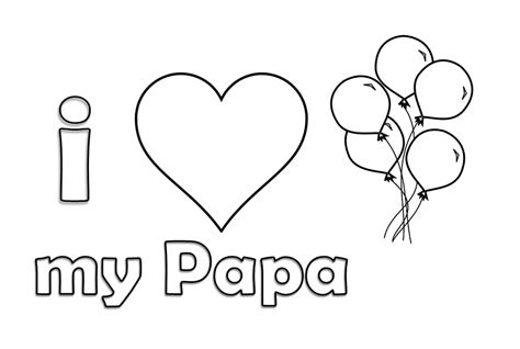i love you papa coloring pages i love papa coloring pages hello kids and grig3 org