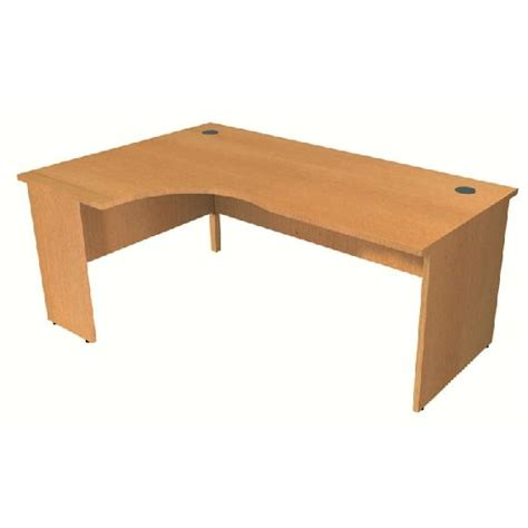 panel end left corner desk hshire office furniture