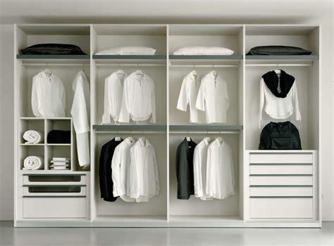 Charmant Placard Chambre Pas Cher #3: Dressing-blanc-avec-penderie-et-tiroirs.jpg