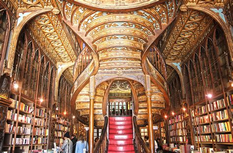 libreria bookshop livraria lello in porto not your average bookstore the