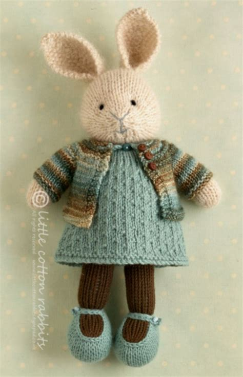 free knitting patterns for bunny rabbits 25 best ideas about knitted bunnies on