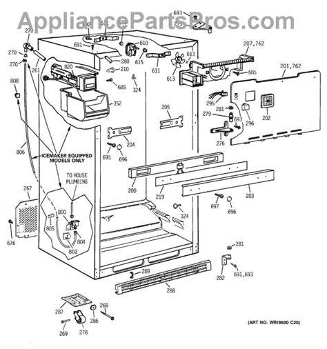 ge wr57x10033 water inlet valve appliancepartspros