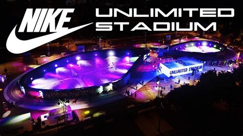 nike s unlimited stadium in manila is the world s first nike unlimited stadium behold the future youtube