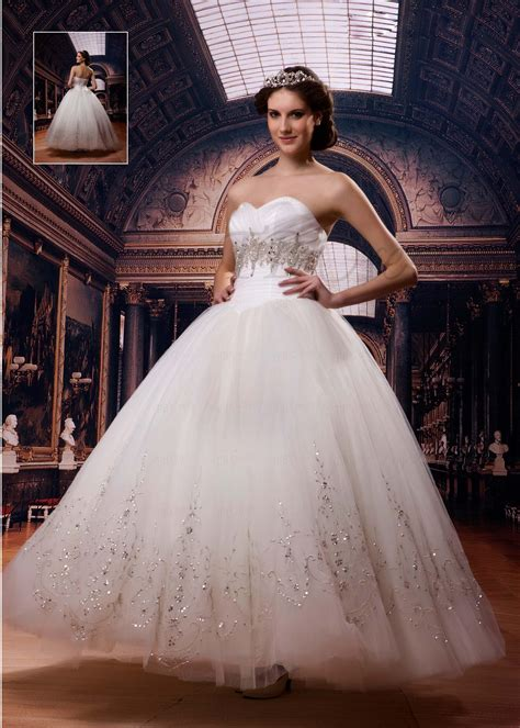 6 styles princess wedding dresses