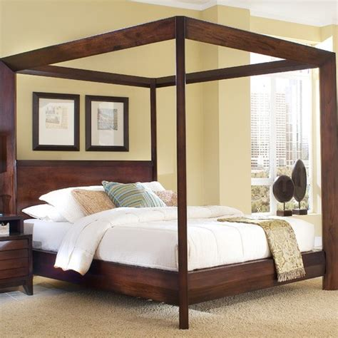 contemporary canopy beds island chamfer canopy bed modern canopy beds