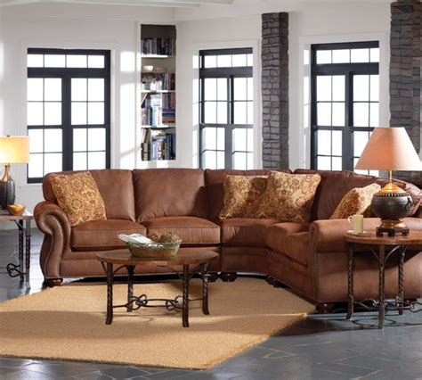 broyhill laramie sectional 19 best images about curved sofas on pinterest carpets