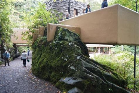 s day house by water balconies everywhere picture of fallingwater