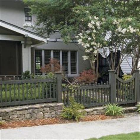 Front Garden Fencing Ideas 25 Best Ideas About Front Yard Fence On Front Yard Fence Ideas Yard Fencing And