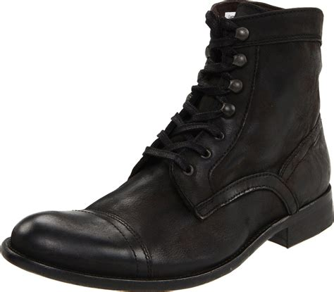 kenneth cole new york mens place boot in black for