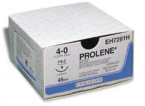 Blue Silk Drapes Prolene Sutures By Ethicon Buy At Sutureonline Com
