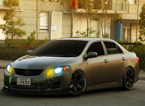 Tuned Toyota Corolla Tuning Track Toyota Corolla 2010 By Dannydesignspr