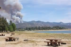 mountain fire blaze closed hurkey lake hemet campgrounds blog bob