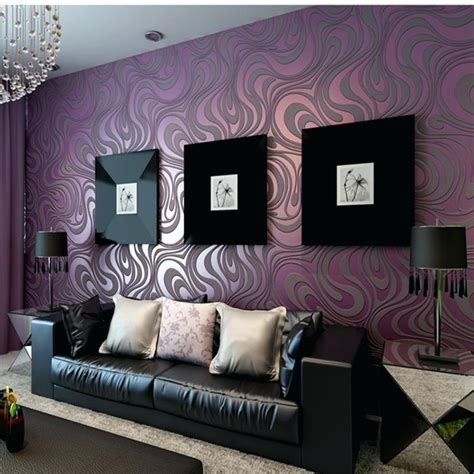 black gold wallpaper living room purple and gold living room wallpapers modern home