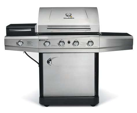 char broil 4 burner stainless steel gas grill with cabinet char broil 463420511 4 burner stainless steel gas grill sears outlet
