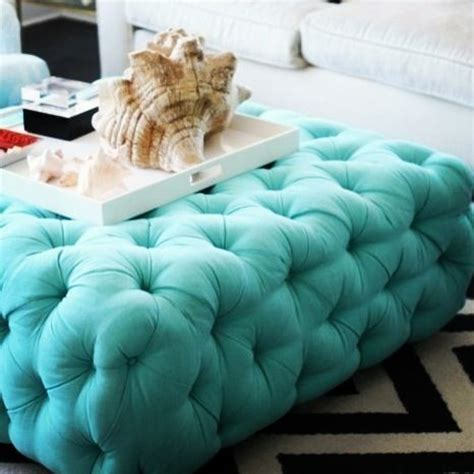 turquoise tufted ottoman still obsessing over this turquoise tufted ottoman